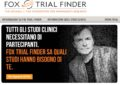 Come partecipare a studi clinici (Fox Trial Finder)
